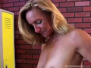 super sexy older lady plays with her juicy.