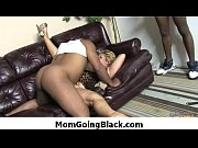 milf is horny for fat big black cock.