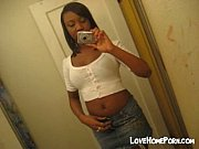 ebony chick shows her boobs