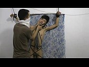 Slim Asian Slave Boy Spanking