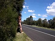 public nudity by freeway as 17.