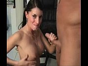 Butterface amateur rides dick and takes a load on the face