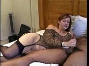 Red head slut goes black