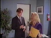 Blonde in black garters and stockings rough office sex!!