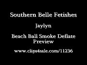 Jaylyn Beach Ball Smoke Deflate
