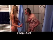 hot teen lolly gartner makes grandpa cum on.