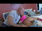 Trinitys step dad sniffs her panties