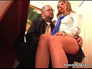 nasty sexy blonde slut sucks rod