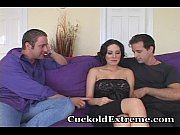 cuckold wife shows hubby how it&#039_s.