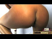 big tit ebony does a blow bang 13