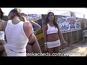 cops tv show busting backyard wet t-shirt contest.