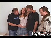 Smokin Hot Rocker Chick Gets 3 Holes Full of Cum At Dirty Ds House