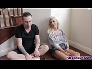 Naughty Cameron Dee treat her stepbro a great blowjob