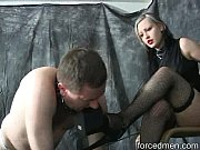 mistress completely dominates her slave turned.