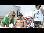 Poolside Cock Play Brandi Belle