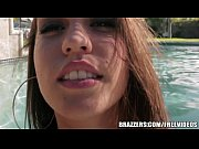 brazzers - pool side anal with.