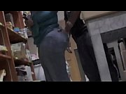 phat ass in jeans getting groped