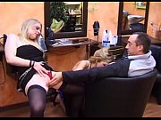 french threesome with two hot hairdresser view on xvideos.com tube online.
