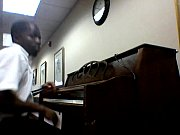 me playing Beethoven