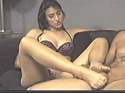 pantyhose foot job (1)