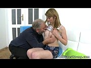 After a lengthy doggie style fucking Sveta gets her old lover&#039_s cum all over her