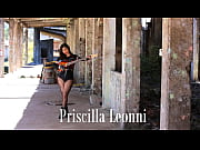 making of ensaio priscilla leonni