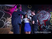 MEXIMILF Slut Gabby Quinteros Gets Gangbanged!