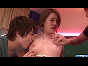 Steamy threesome scenes along mature&nbsp_Yurika Momo