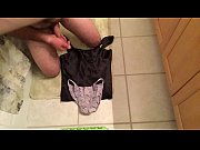 jerking off on friends panties