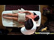 cute teen babe fantasy fucking on massage table 6