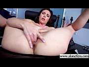 real lovely girl (casey calvert) use sex things.