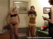 Cate, Natalie &amp_ Tracey play Strip Darts