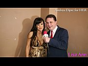 Lisa Ann: porn meeting with Andrea Dipr&egrave_!