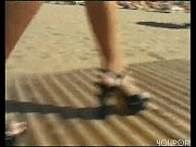 feet fun on the beach