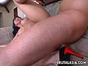 Exciting Asian dolly Mika Tan enjoys roug ...