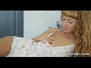 Petite blonde teen with blonde curls fucked_1 81