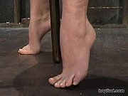 Picture Hogtied - Sarah Blake tied up and made cum o...
