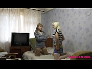 Young and Old Russian Lesbians Nikki and Lidiya Make Each Other Cum