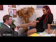 Redhead Mia Lelani fuck in the office