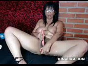horny 49 year old latina milf toying pussy.