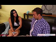 Hot brunette Audrey Bitoni gets nailed