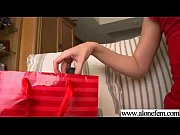 lonely cute girl play with stuffs till climax movie-10