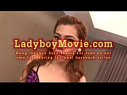 ladyboy zara cums during bareback fucking