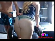 Thick Blonde Gets Paddled from Chris Martin from Coldplay - Chattercams.net