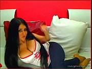 gorgeous busty brunette brunele camgirl in.