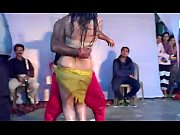 Hot Indian Girl Dancing on Stage
