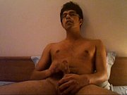 indian college boy shows off hard cock and cums
