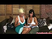 Euro blonde Puma Swede Fucks Lisa Ann!