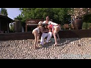 Blonde Teens Rihanna Samuel, Diamond Cross blowjob for Rocco Siffredi