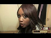 Ebony honey in group interracial sex orgy 8